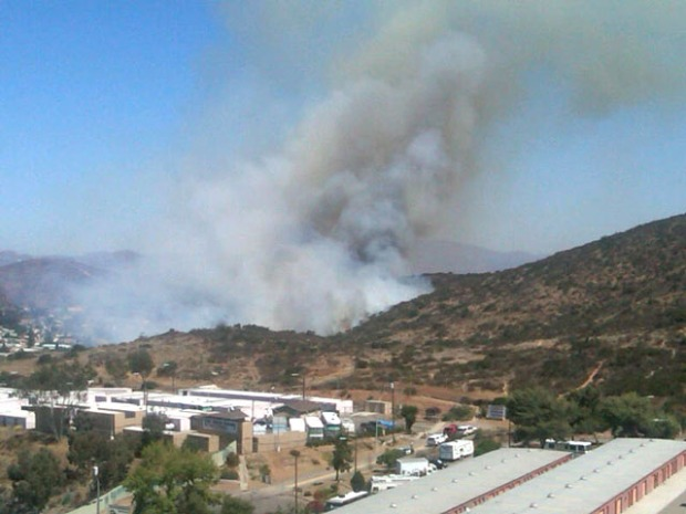Viewer Images: Spring Valley Fire