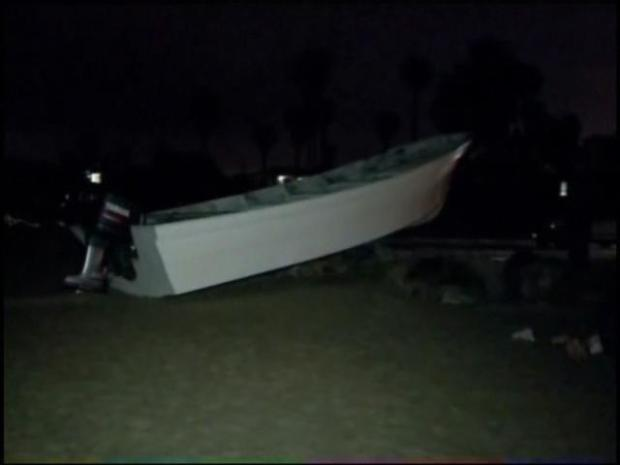 [DGO] 20-Plus In Custody After Boats Come Ashore