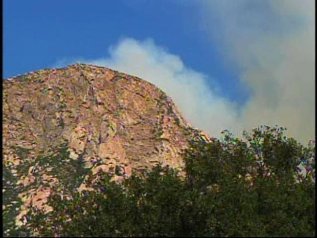 [DGO] Brush Fire Burns Near Lakeside