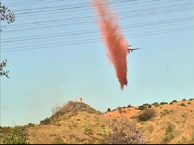 [DGO] Brush Fires Burn in San Diego County