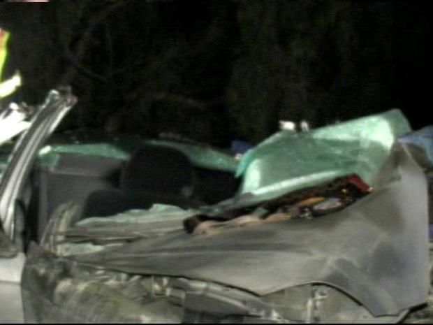 [DGO] Car Mangled, Driver Killed in I-805 Accident