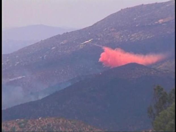 [DGO] Crews Gain Upper Hand on East County Brush Fire