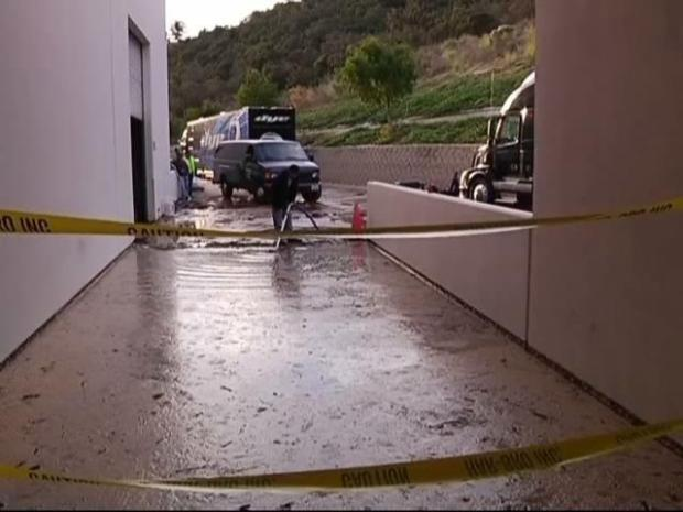[DGO] Damaged Hydrant Caused Mudslide