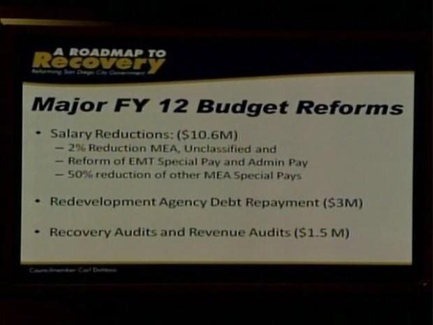 [DGO] DeMaio Unveils Budget-Balancing Plan