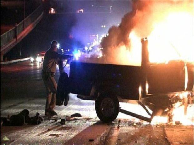 [DGO] Fatal Collision on I-8 Sparks Car Fire