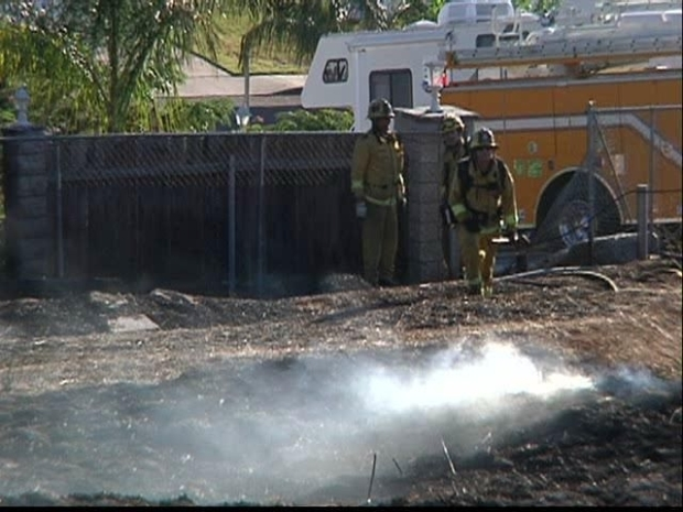 [DGO] Fire Breaks out in Santee