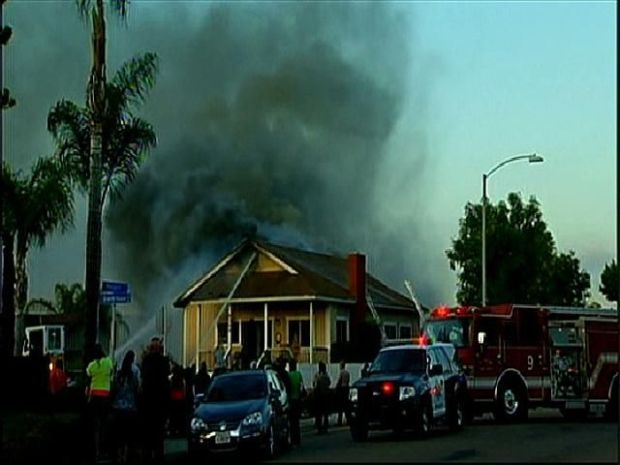 [DGO] Garage Fire Burns Santee Home