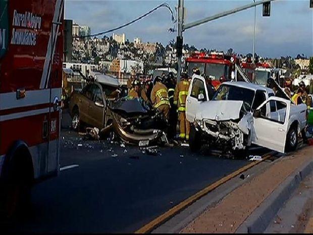 Westbound Harbor Drive Closed Following Crash - NBC 7 San Diego