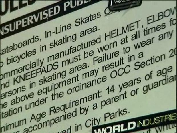 [DGO] Helmetless, Boardless Dad Ticketed at Skate Park