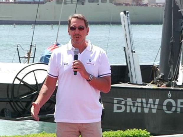 [DGO] Larry Ellison Presents Trimaran