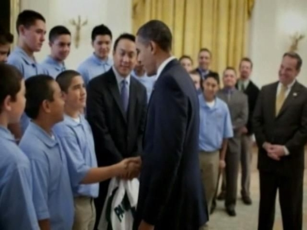 [DGO] Little-Leaguers Finally Meet the President