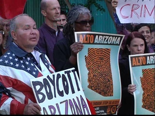[DGO] Protests Demand Boycott Over Arizona Immigration Policies