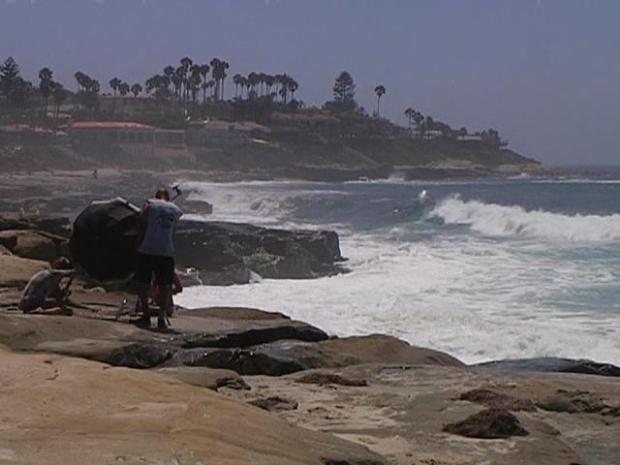 [DGO] Raw Video: High Surf at Windansea