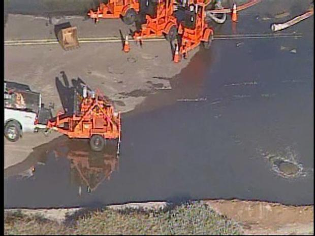 [DGO] Raw Video: North County Sewage Spill
