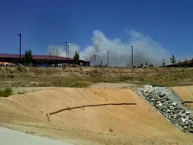 [DGO] Raw Video: Pendleton Fire