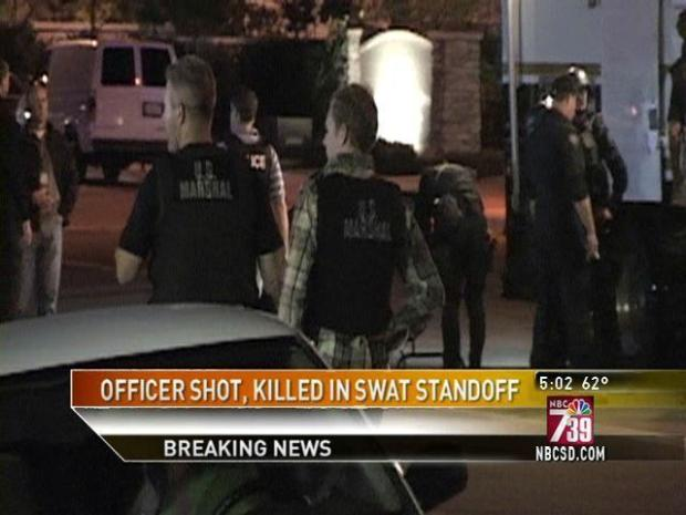 [DGO] SDPD Officer Shot, Killed During Standoff