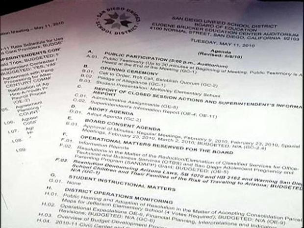 [DGO] SD Schools Consider Condemning AZ Law
