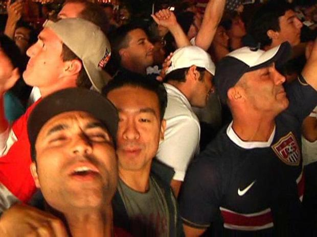 [DGO] San Diegans Sing After Team USA Win: Raw