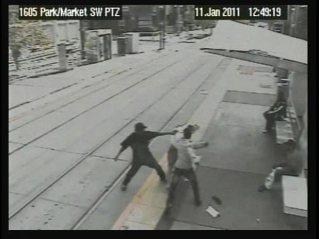 [DGO] Trolley Attack Caught on Camera: Raw