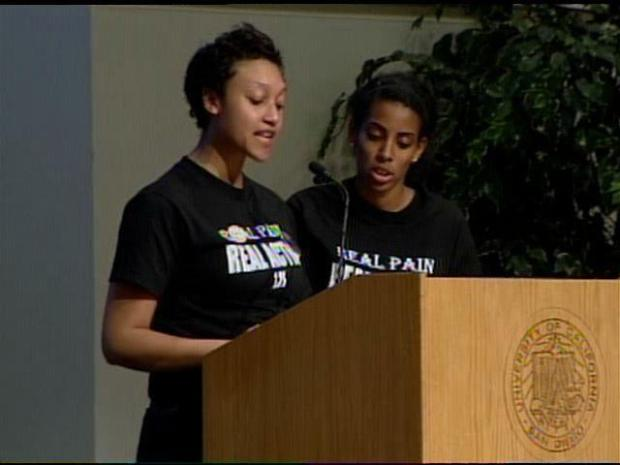 [DGO] UCSD Black Student Union Speech