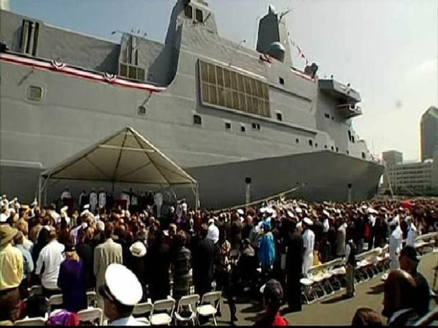 [DGO] USS San Diego Commissioned
