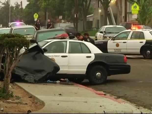 [DGO] Violent Crash Injures Officers, Suspect