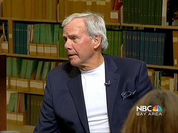 [BAY] VIDEO: Tom Brokaw Prepares For Debate