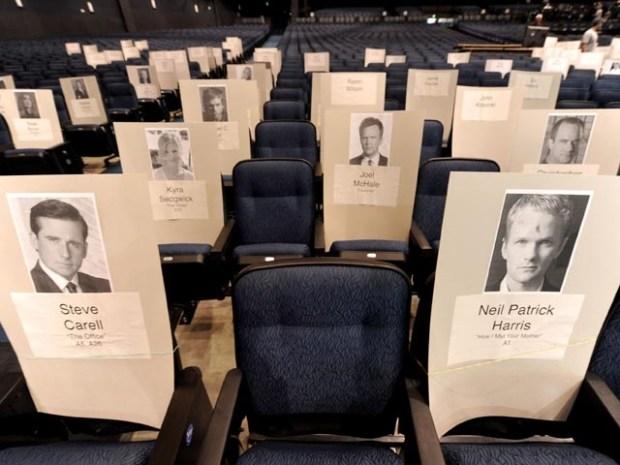 [LA] Nokia Theater Prepares for Emmy Awards