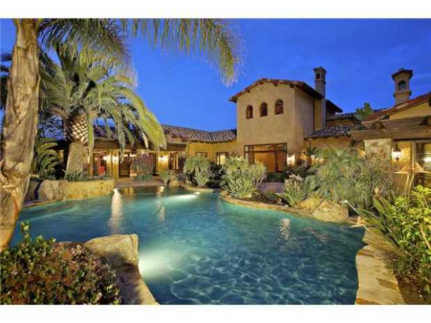 LaDanian Tomlinson mansion in Los Angeles