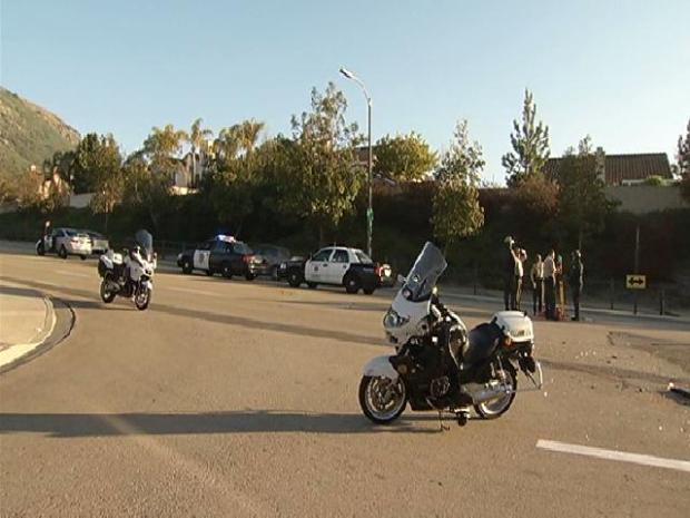 San Marcos Motorcycle Crash: Images