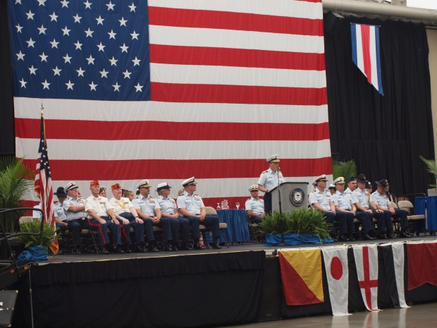 U.S. Coast Guard Recruit Graduation