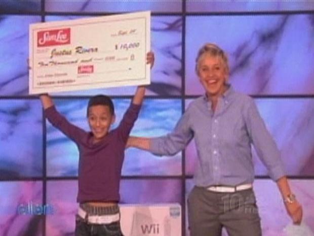 [PHI] Justus Gets $10,000 Surprise