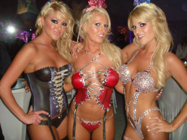 New Year's Eve at L.A.'s Playboy Mansion