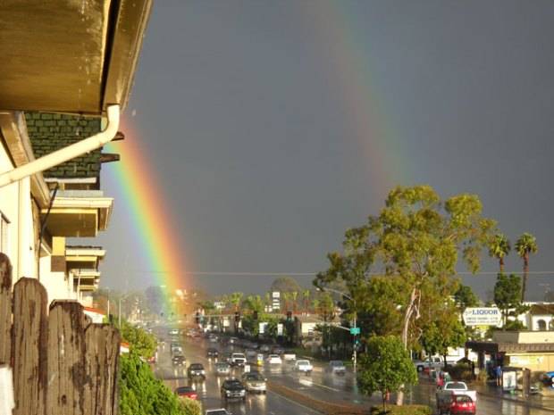 Your Pics: Rainbow Signals Storm's End