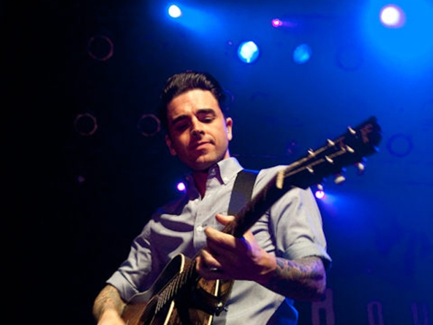 Screen Grabs: Dashboard Confessional at HOB