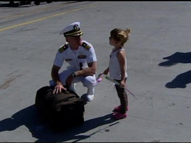 USS Reagan Returns  Home