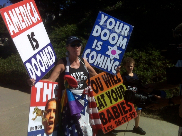 Westboro Baptist Descends on San Diego