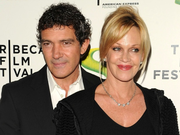"[NBCAH] Antonio Banderas & Melanie Griffith Talk ""Shrek"" & Raising Kids In Hollywood"
