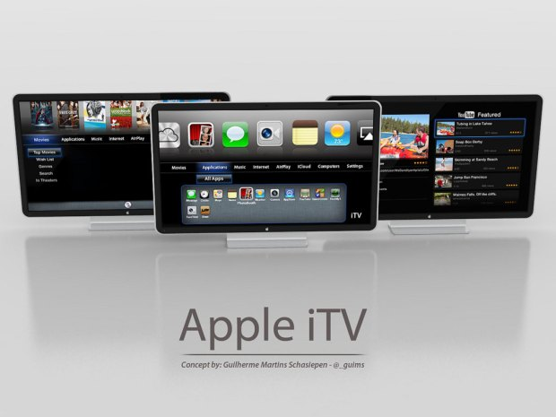 One Artist's Rendering of the Apple TV