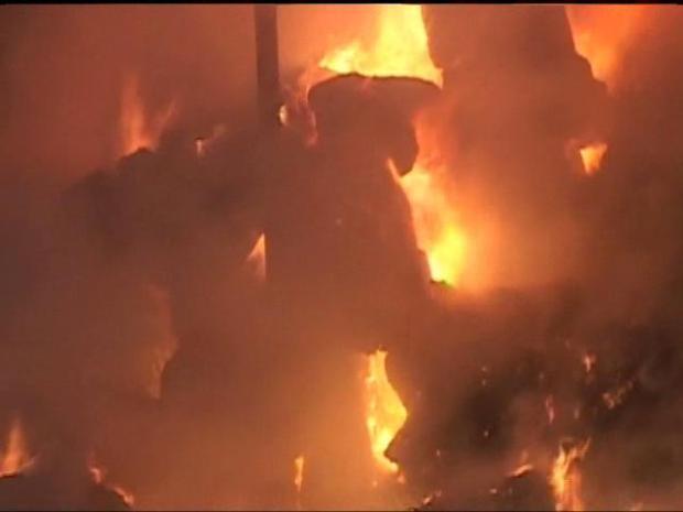 Images: Nestor Barn Fire