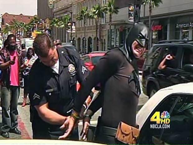 [LA] Caped Crusader in Custody