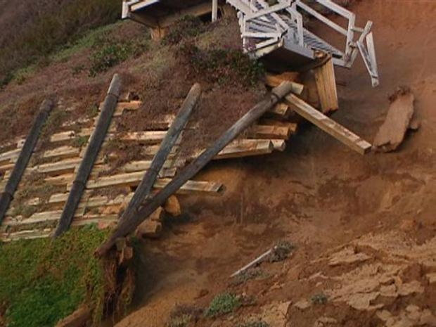 Encinitas Bluff Collapses