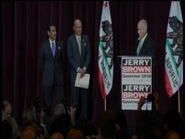 [BAY] RAW VIDEO: Jerry Brown on Election Night