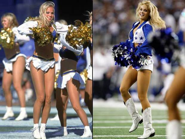 Who's Hotter? Chargers or Cowboys Cheerleaders