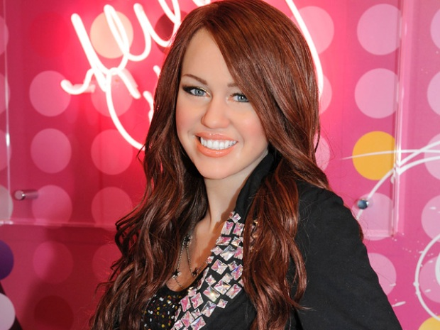 Miley Cyrus Joins Tussauds Wax Lineup
