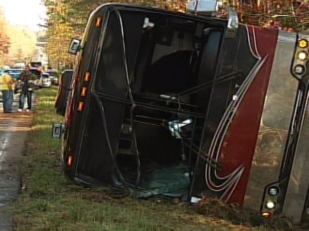 Miley Cyrus Tour Bus Crashes in Virginia