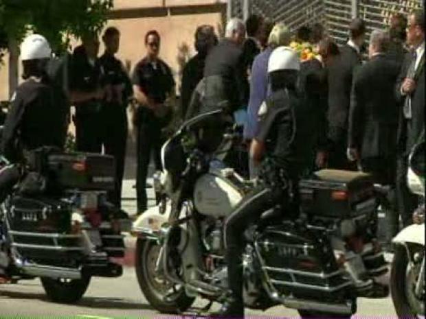 [LA] Ceremony Held for Fawcett