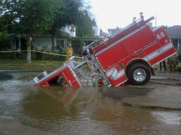 Fire Engine in the Hole