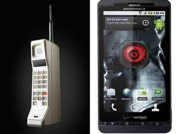 Droid Army: 37 Years of Motorola Phones