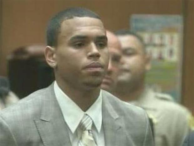 [LA] Chris Brown Enters Plea in Assault Case